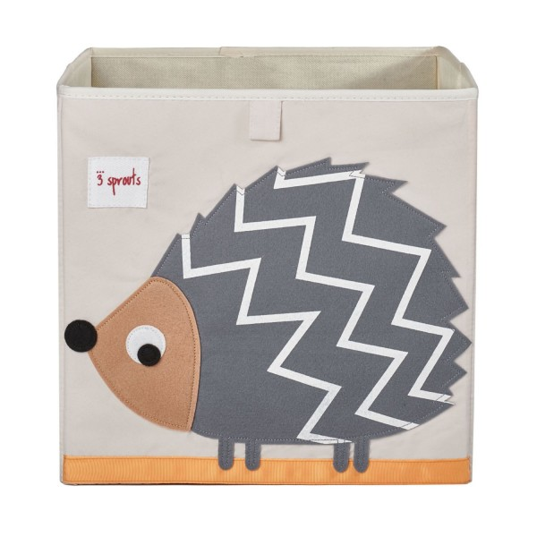 3 sprouts Spielzeugbox Igel