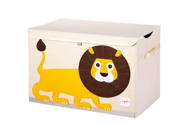 3 sprouts Spielzeugkiste Löwe