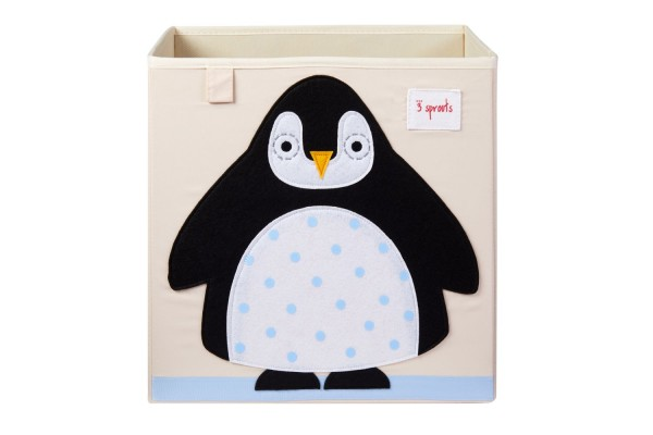 3 sprouts Spielzeugbox Pinguin