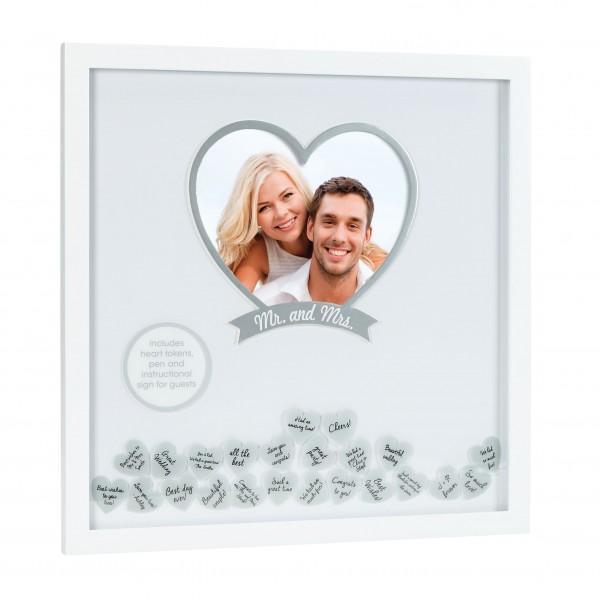 PEARHEAD wedding wishes frame