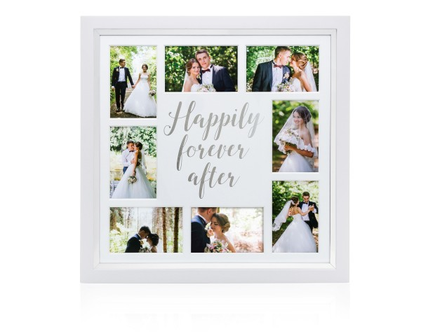 PEARHEAD happily ever after collage frame