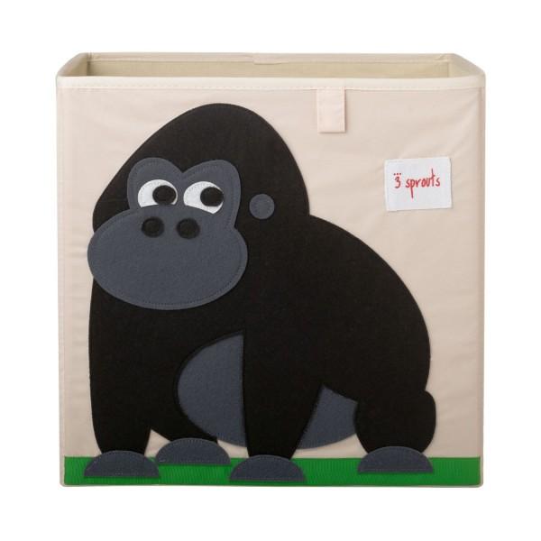 3 sprouts Spielzeugbox Gorilla