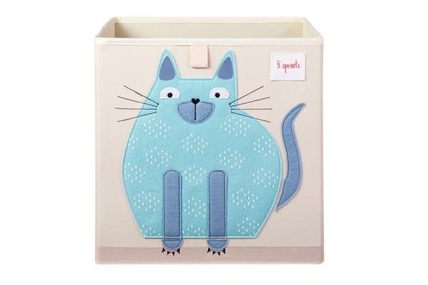 3 sprouts Spielzeugbox Katze