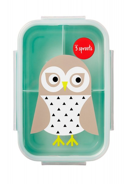 3 sprouts Lunch Box Eule